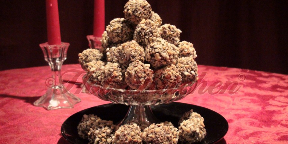 Peanut Butter Balls recipe - cookie recipe - hot kitchen - chef wendy